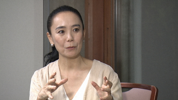 『SWITCHインタビュー』河瀬直美 (c)NHK