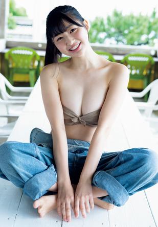 『週刊プレイボーイ46号』「愛と勇気」我妻ゆりか