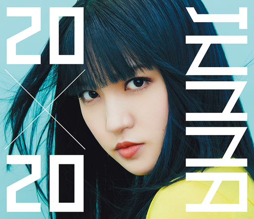JUNNA 2ndアルバム『20×20』初回限定盤ジャケット