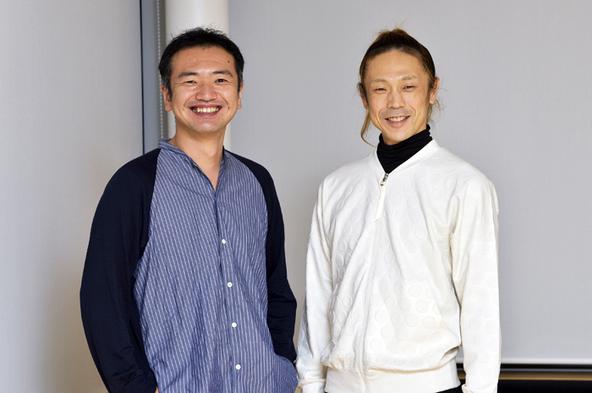 (左から)阿部海太郎、森山開次