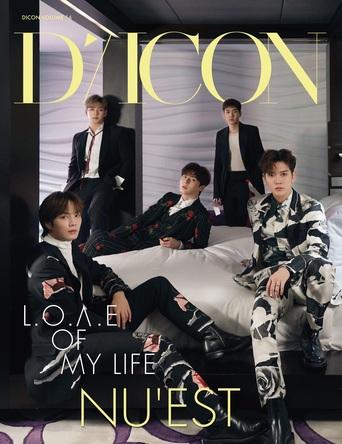 "K-POPアーティストの""神写真集""Diconシリーズ! NU'EST写真集『L.O.Λ.E OF MY LIFE』JAPAN EDITIONが11月24日(火)発売&日本オリジナル豪華特典を初公開! (1)"