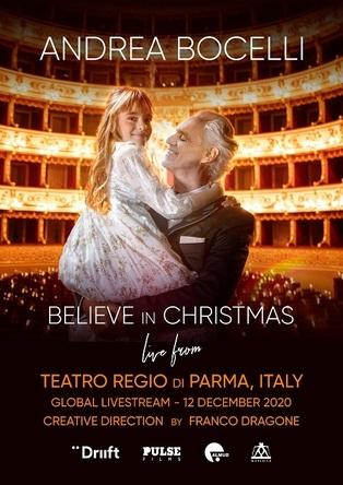 アンドレア・ボチェッリ、ニュー・アルバム『Believe~愛だけを信じて』がついに発売 配信コンサート『Believe in Christmas』の開催も決定