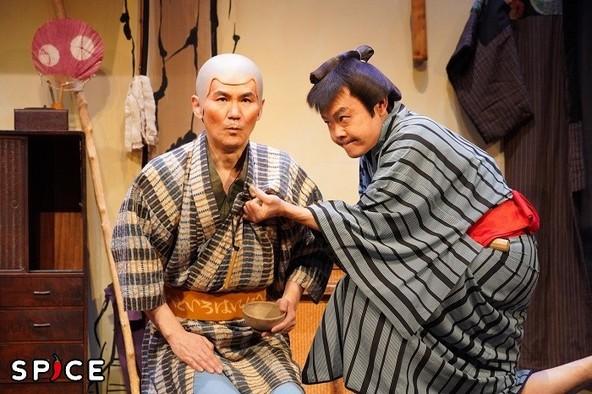 『あんまと泥棒』ゲネプロ写真 (c) 撮影:宮川舞子