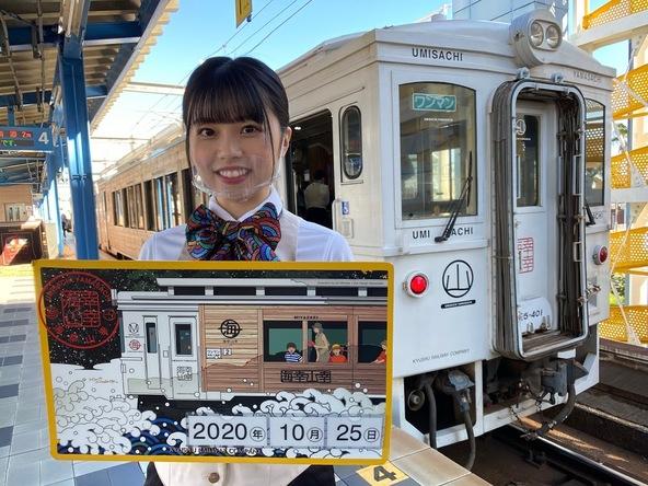 【HKT48×JR九州】「HKT48の大好きな九州手帖」全16本のムービーが完成!!激レア・オフショット写真も公開♪ (1)