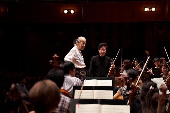 名誉指揮者 外山雄三の信頼も厚い、首席ソロコンサートマスター森下幸路