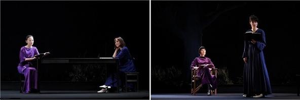 (左写真)松雪泰子、ソニン (右写真)片桐はいり、瀧内公美 (c)撮影:宮川舞子