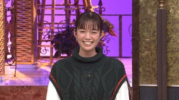 『笑ってコラえて!+今夜くらべてみました』佐藤栞里 (c)NTV