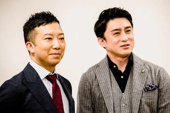 (左から)市川猿之助、松本幸四郎