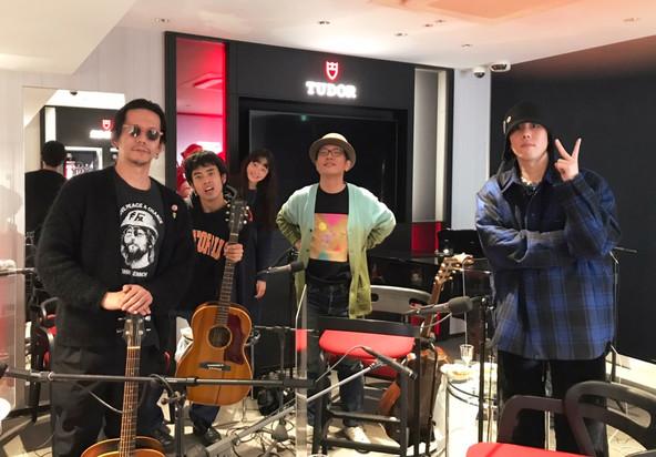 野村訓市、野田洋次郎(RADWIMPS)、ハナレグミ、HIMIが大晦日の夜に音楽を肴に語る!「J-WAVE YEAR END SPECIAL TUDOR CLOSING TIME」 (1)