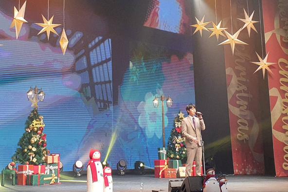ソンモ(ex.超新星)クリスマスイベントを開催!!