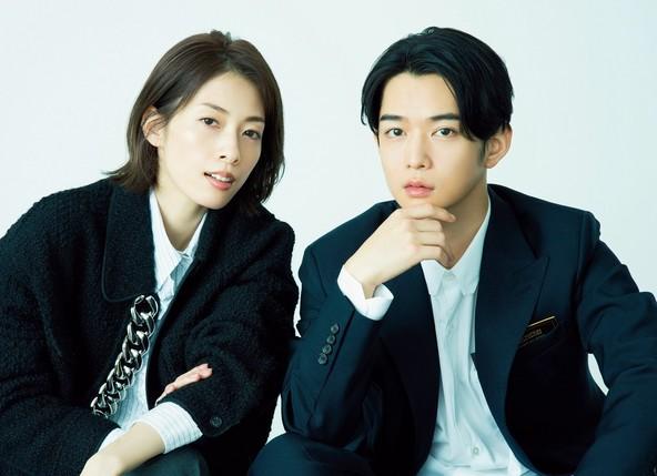 明日海りお × 千葉雄大 ファッション誌「Oggi」でハンサムかっこいい大人対談 (1)