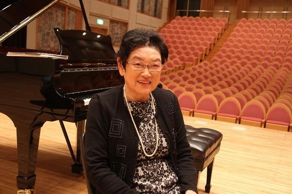 演奏活動60周年を迎えたピアニスト池田洋子     (C)H.isojima