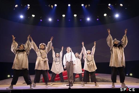 「演劇の毛利さん –The Entertainment Thater 音楽劇『星の飛行士』」 (c)撮影=金山フヒト
