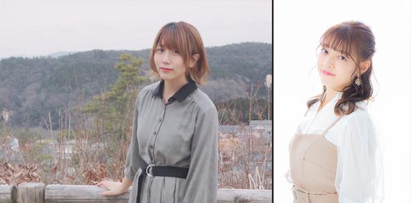 TVアニメ『やくならマグカップも』オーデション合格者 左:津村ねんど・右:宮地晴