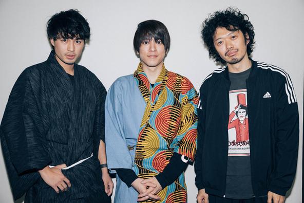 (左から)佐伯大地、松島庄汰、丸尾丸一郎 (c)(写真撮影:寺坂ジョニー)