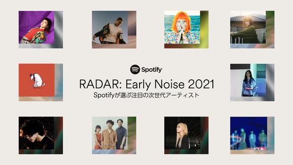 Spotify「RADAR:Early Noise 2021」アーティスト