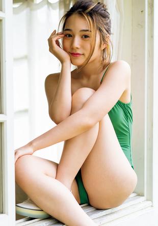 『週刊プレイボーイ5号』「マシュマロHONOBABY」浪花ほのか (c)栗山秀作/週刊プレイボーイ