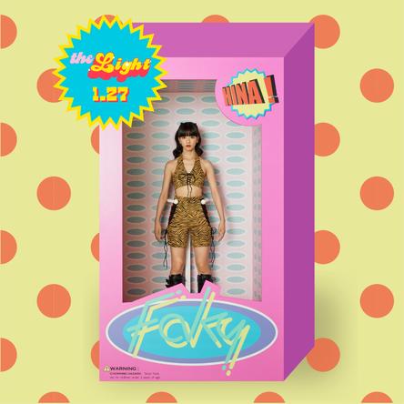FAKY、新曲「The Light」のMVプレミア公開が決定 ドールに扮したHinaのティザー映像にファン「持ち帰りたい」