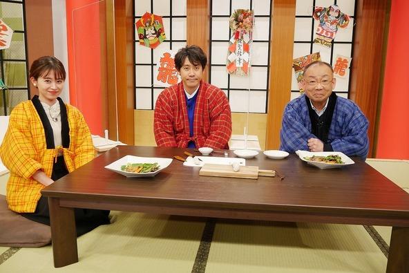 『1×8いこうよ!』「1×8ニューイヤー2021」Part3 大泉洋、木村洋二(YOYO'S),大家彩香(STVアナウンサー) (c)STV