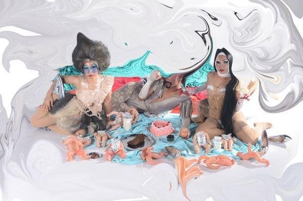 新作上映会に変更となった、ナターシャ・トンテイ『秘密のグルメ倶楽部』イメージビジュアル。 (c)©︎Natasha-Tontey