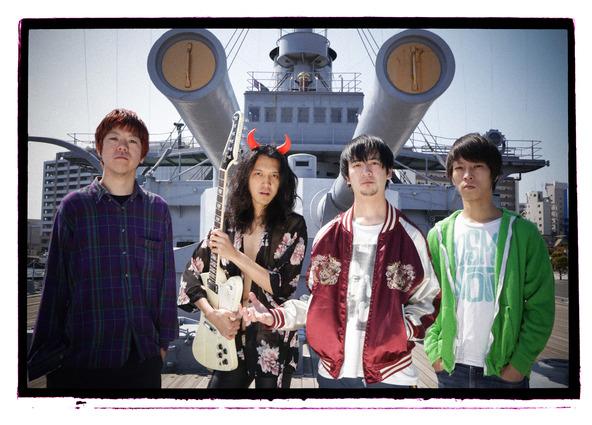 Dr.DOWNERが東名阪ツアー会場限定の新作をリリース