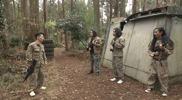 『有吉の壁』「おもしろサバゲー場の人選手権」 (c)NTV