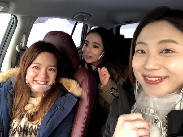 『ブラキタ』「週末ぶらっと」yuna、mitsuki、aika(1) (c)HBC