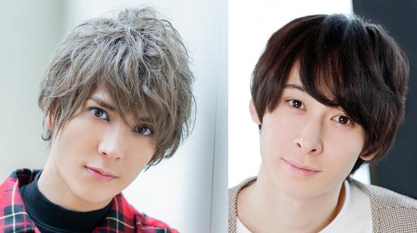 (左から)仲田博喜、田中涼星