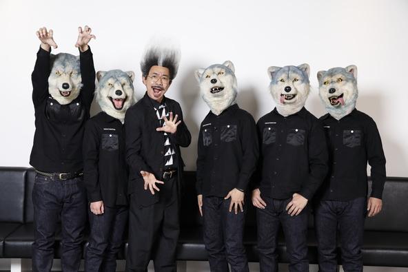 MAN WITH A MISSIONが木梨憲武とコラボ!MUSIC VIDEOを制作する企画「WOWGOW MV PROJECT」第3弾は2021年2月にWOWOWで放送! (1)