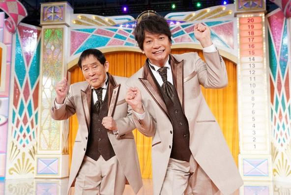 『欽ちゃん&香取慎吾の第98回全日本仮装大賞』<MC>萩本欽一、香取慎吾 (c)NTV
