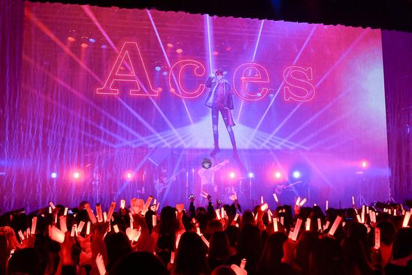 ASMR界の頂点に君臨するライバー・あっとくん、初披露の楽曲群で新境地を切り拓いたワンマンライブ『Aces』 (1)