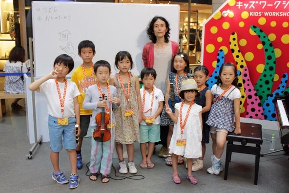 高木正勝、六本木ヒルズ主催イベントで小学生向け作曲ワークショップを開催