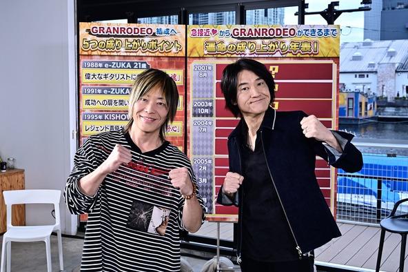 大人気ロックユニット・GRANRODEOの冠番組「GRANRODEOの踊ロデオ!」Blu-rayが5/26に発売決定! (c)(C)TBS