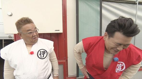 『熱烈!ホットサンド!』伊達みきお、富澤たけし(サンドウィッチマン) (c)STV