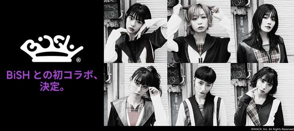 BiSHメンバーそれぞれがデザインしたオリジナルTシャツも!「ジーユー」とのコラボコレクションが登場