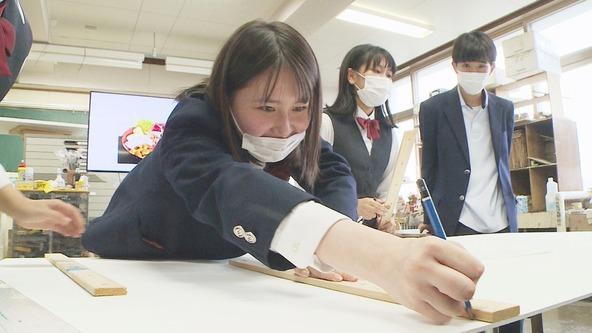 『熱烈!ホットサンド!』札幌北稜高校・美術部(1) (c)STV