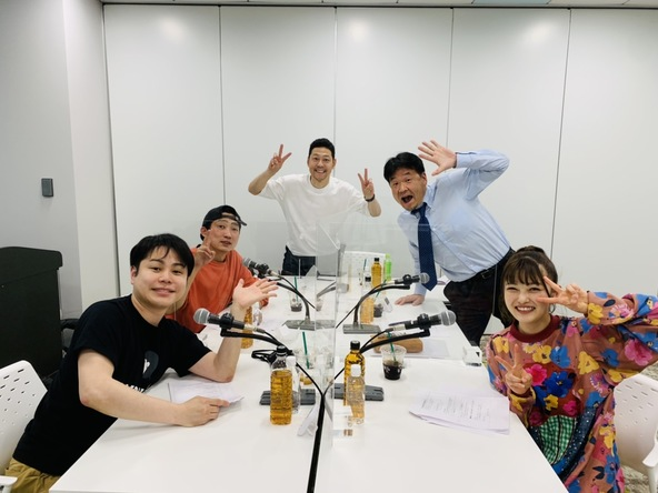 番組5年目突入記念スペシャル!東野幸治さんがABCラジオ「てれびのミカタ ラジオのラララ」に緊急出演!! (1)