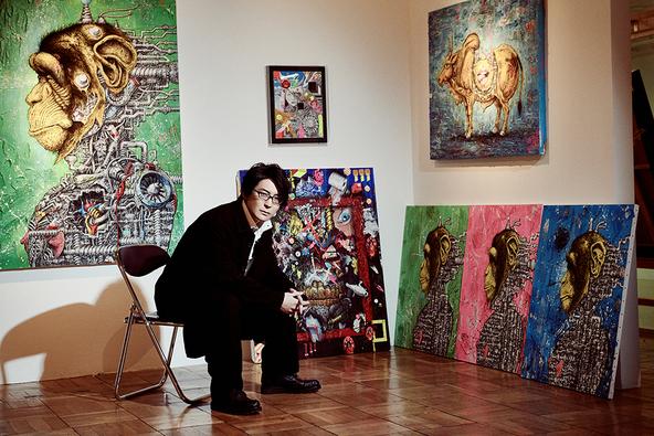 東方神起やチュンチュンとのコラボで注目されている現代美術家・笹田靖人が、大阪で初の展示会を開催!「観てくださった方とのコミュニケーションが次の作品への燃料」 (1)