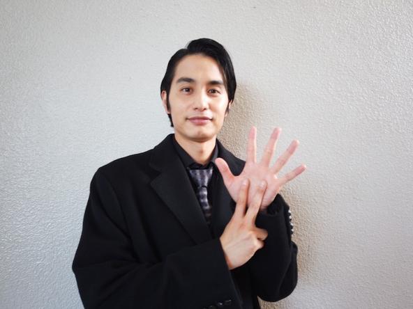 中村蒼が公開した、ドラマ『ネメシス』カウントダウン画像