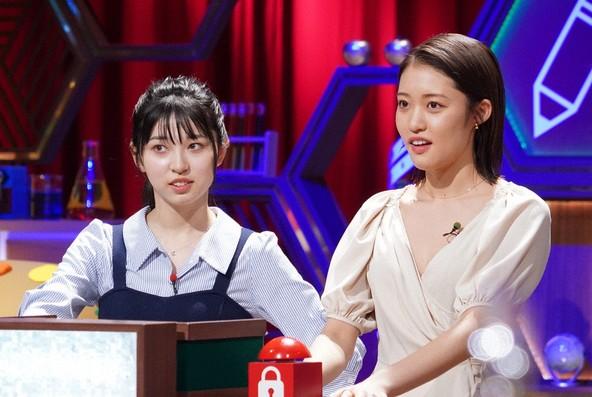 『小学5年生より賢いの?』SP 王林&ジョナゴールド(りんご娘) (c)NTV