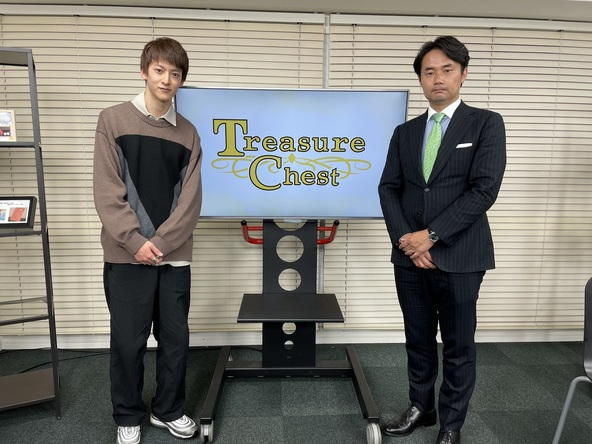 伊藤あさひがMCを務めるuP!!!オリジナルトーク番組「Treasure Chest」第7回ゲストに杉村太蔵が登場!! (1)