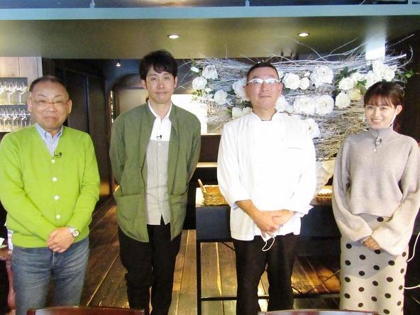 『1×8いこうよ!』大泉洋、木村洋二(YOYO'S),大家彩香(STVアナウンサー) (c)STV