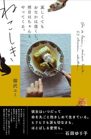 SNSでフォロワー急増中!猫沢エミの「#猫沢飯」が一冊の本に『ねこしき 哀しくてもおなかは空くし、明日はちゃんとやってくる』