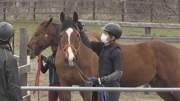 『あぐり王国北海道NEXT』「全国で唯一!競走馬を飼育する高校」 (c)HBC
