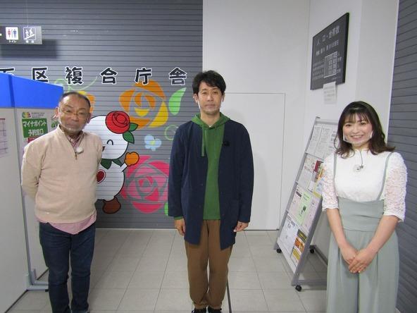 『1×8いこうよ!』大泉洋、木村洋二(YOYO'S)、兼子真衣(STVアナウンサー) (c)STV
