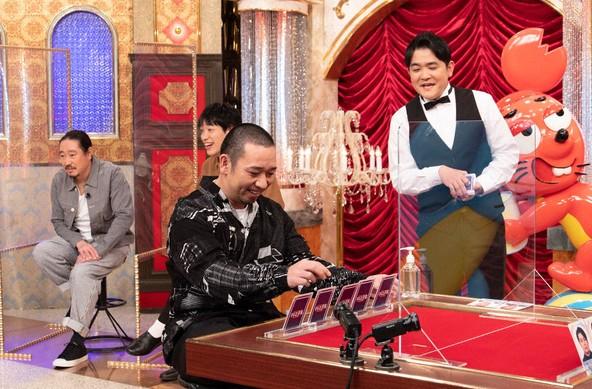 『テレビ千鳥』千鳥、西田幸治(笑い飯)、川島明(麒麟) (c)テレビ朝日