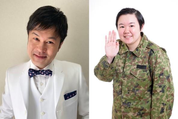 「野田ちゃん&やす子」生配信にて、お笑いライブ開催!初回放送は、5月16日(日) (1)