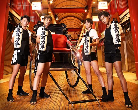 東京力車、テイチクレコード移籍第二弾シングル発売&CS日テレプラスにて初の冠番組決定! (1)