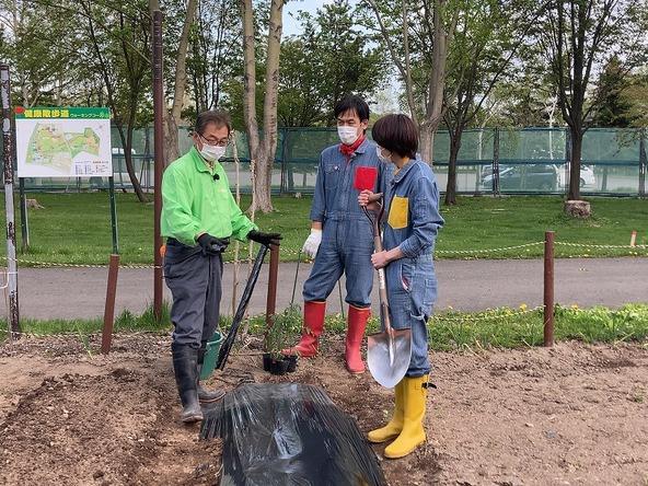 『あぐり王国北海道NEXT』家庭菜園の達人に野菜作りを学ぶ (c)HBC