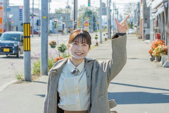 『歩いて稼ごう!1歩1円』横山由依(AKB48) (c)HBC